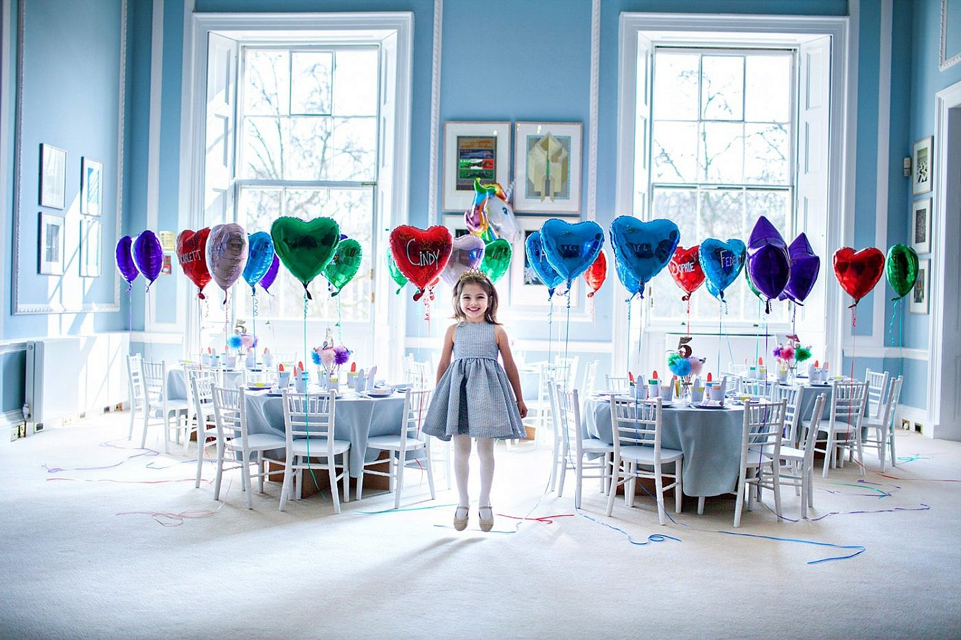 children's birthday party photography in London